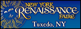 button: New York Renaissance Faire, Tuxedo Park, NY, fall